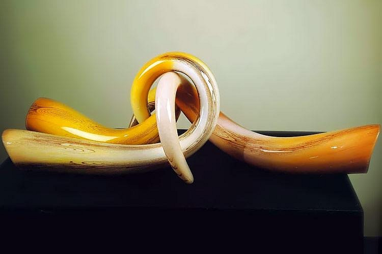 William Morris, Tusks 1988, Glass