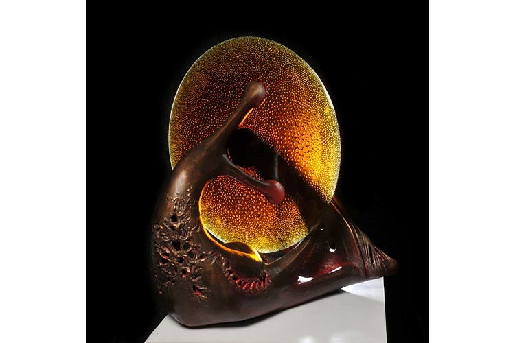 Jaromir Rybak, Touch of Love II 2011, Glass