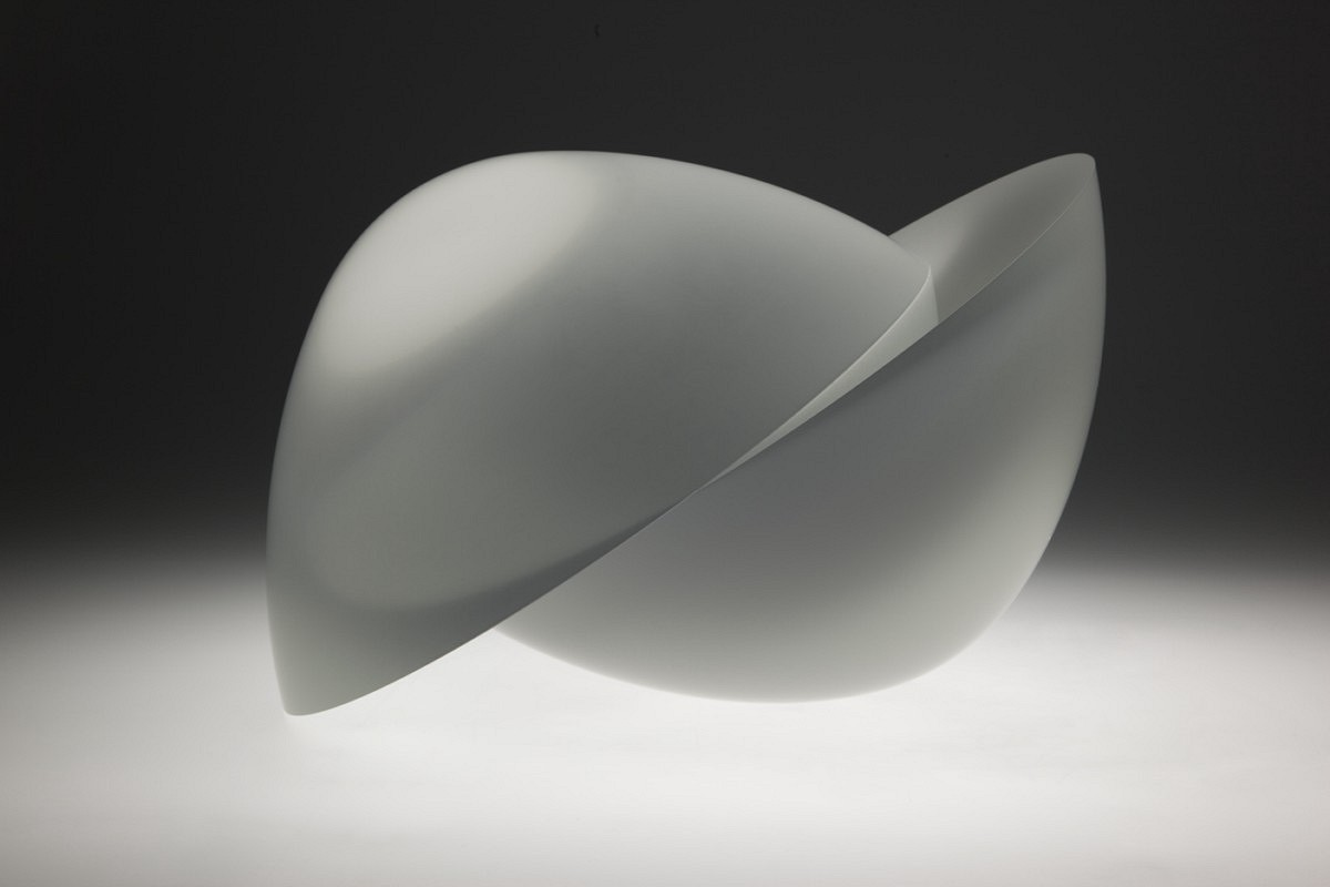 Vaclav Cigler, Two Half Spheres 2009, Optical Glass