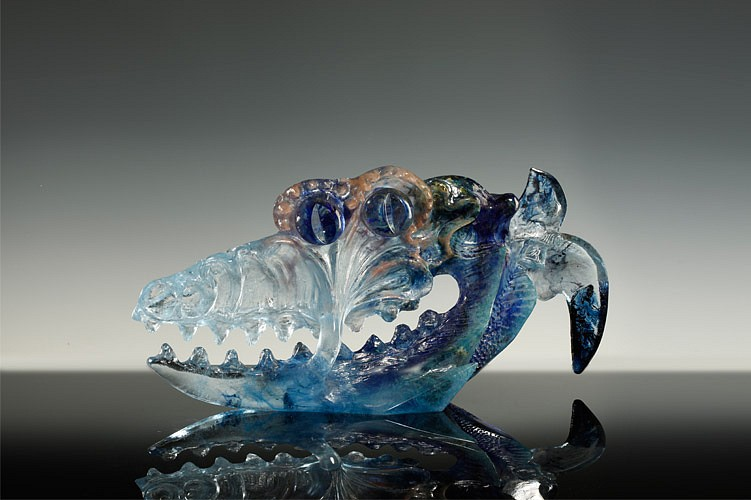 Jaromir Rybak, Tee Fish 2004, Glass