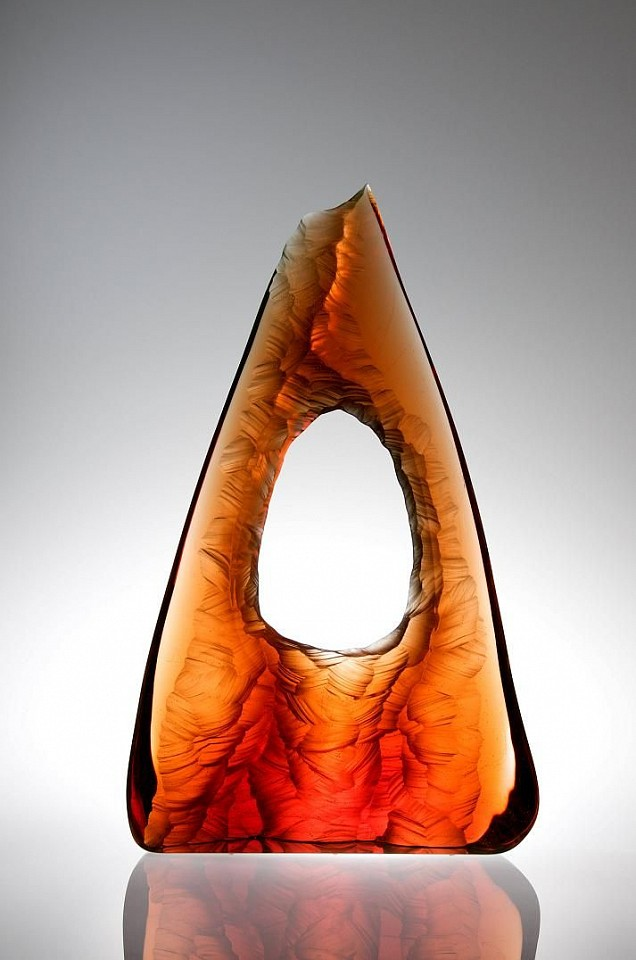 Peter Bremers, Canyons & Deserts 47, Window Rock 2010, Glass