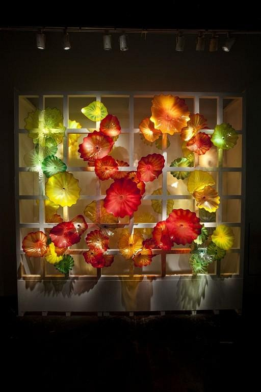 Dale Chihuly, Kaleidoscope Persian Window 10.406.in1 2010, Glass